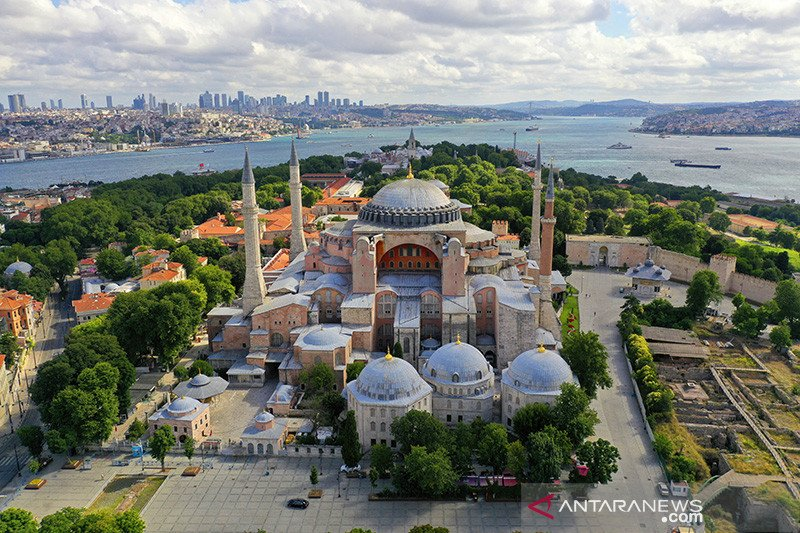 Turki akan jelaskan UNESCO soal Hagia Sophia jadi masjid