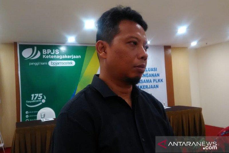 BPJAMSOSTEK Manado tingkatkan protokol Lapak Asik masuki normal baru