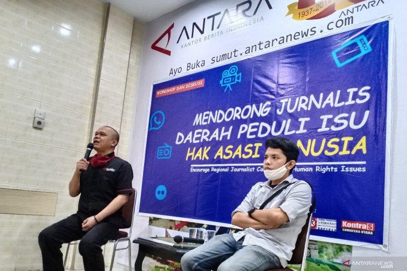 Kontras Sumut gandeng Kantor Berita Antara latih jurnalis