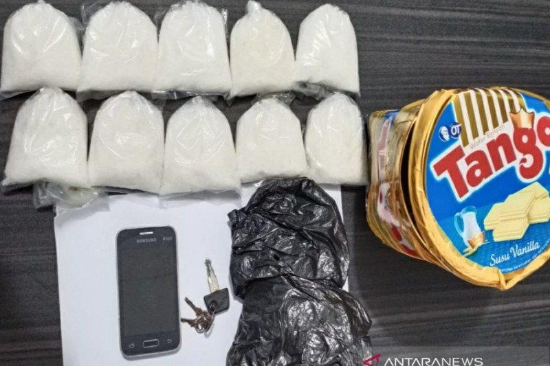 Pasokan 1 kilogram sabu-sabu asal Balikpapan digagalkan BNNP Kalsel