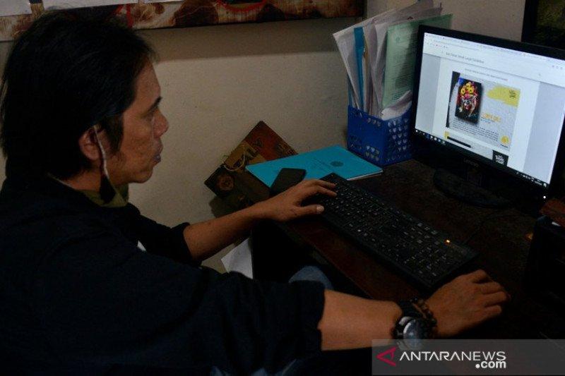 Pameran senirupa secara virtual