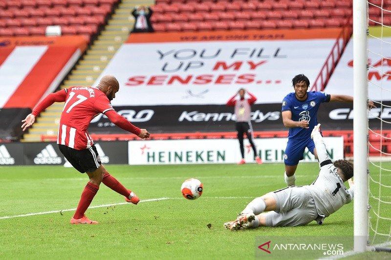 Chelsea telan kekalahan 0-3 di kandang Sheffield