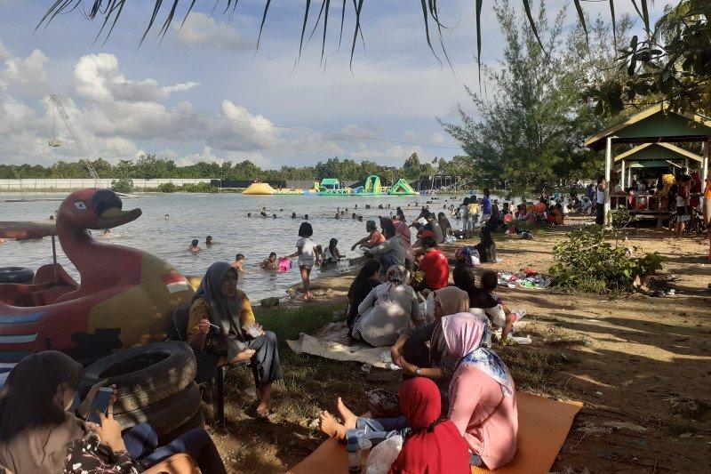 Destinasi wisata di Kota Batam mulai dipadati pengunjung