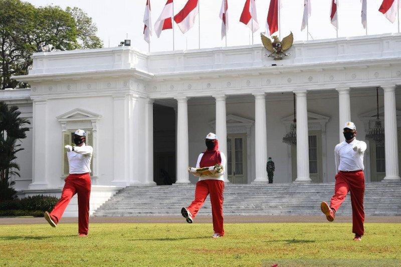 Istana ajak warga ikut upacara virtual HUT ke-75 Republik Indonesia