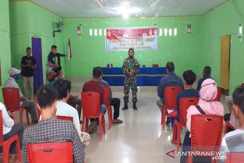 Satgas TMMD membina mental ideologi Pancasila warga Konawe Kepulauan
