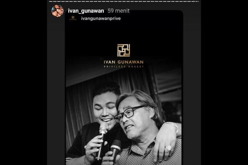 Ayah Ivan Gunawan punya riwayat penyakit jantung