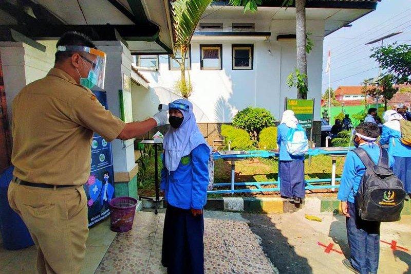 17 sekolah Kota Magelang simulasi pembelajaran tatap muka