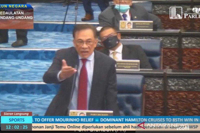 Anwar Ibrahim jadi ketua oposisi parlemen