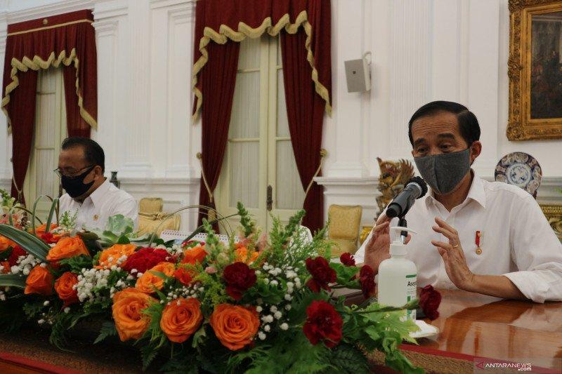 Jokowi tegaskan rencana perampingan 18 lembaga pemerintah