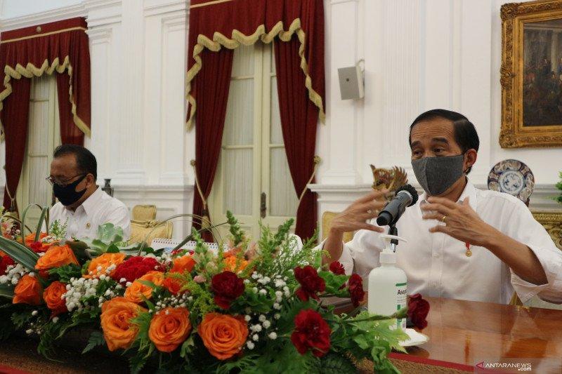 Cegah peningkatan COVID-19, Jokowi siapkan sanksi bagi pelanggar protokol kesehatan