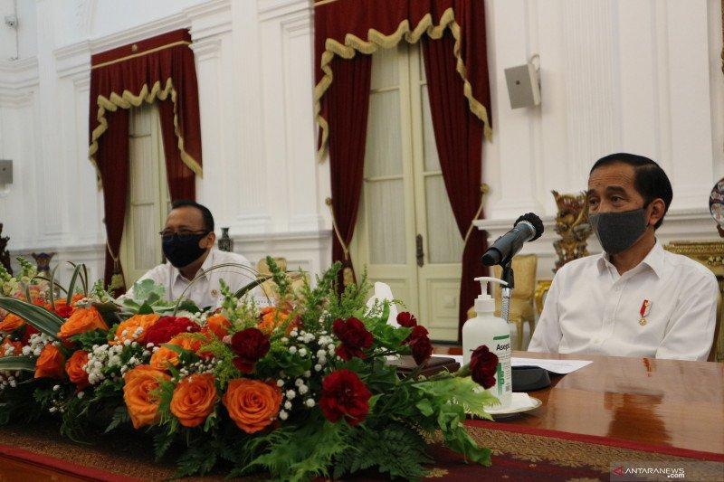 Presiden memotivasi menteri, bukan marah-marah saat paripurna