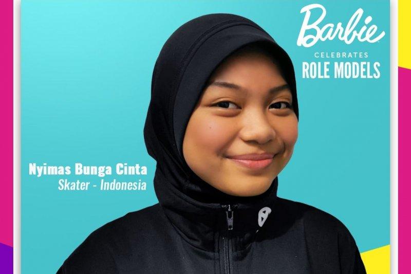 Penghargaan dari Barbie untuk atlet muda Nyimas Bunga Cinta