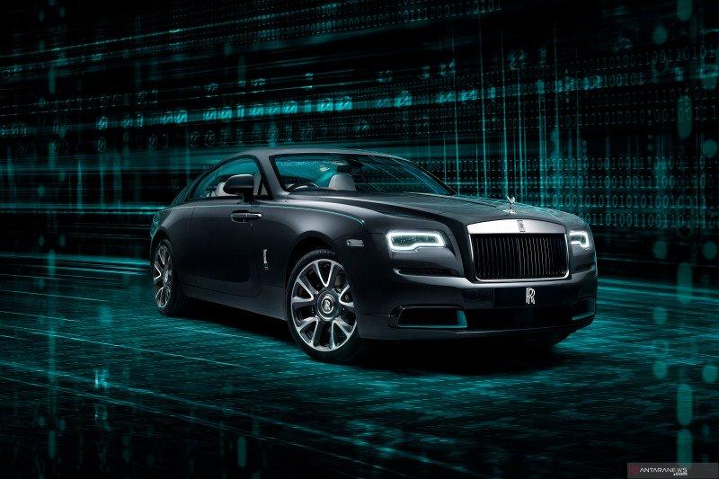 Rolls-Royce Wraith Kryptos, mobil misterius berisikan data tersembunyi
