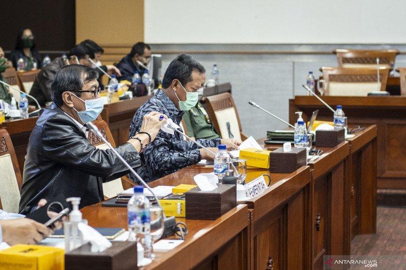 Raker Komisi I DPR dengan pemerintah