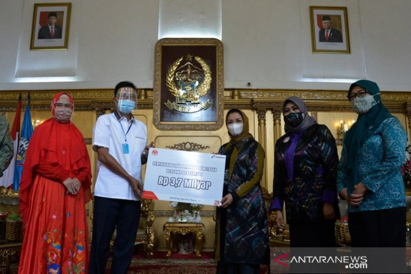 Bantuan pengembangan UMKM PT Pertamina MOR VII