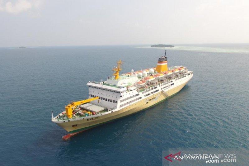 Tur virtual Pelni di  KM Kelud agar masyarakat merasakan naik kapal