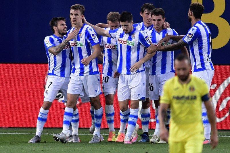 Ditaklukkan Sociedad, Villarreal gagal ke Liga Champions