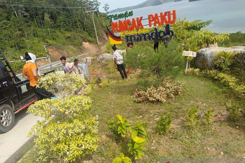 Pesisir Selatan Government fixed Puncak Paku park, KWBT Mandeh