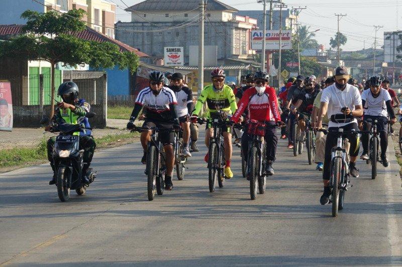 Bupati Lampung Tengah Ajak masyarakat jaga pola hidup sehat