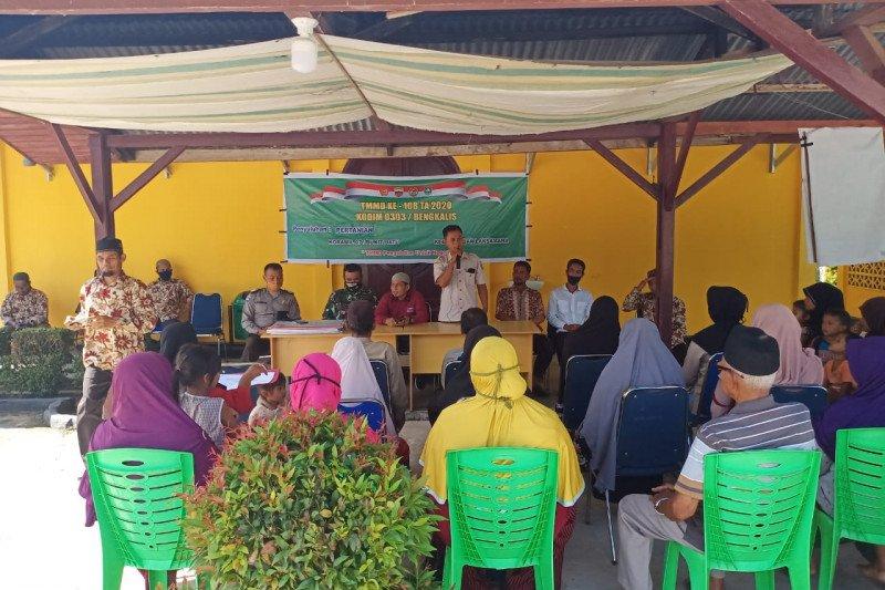 TMMD Kodim Bengkalis - Warga dapatkan penyuluhan narkoba dan pertanian