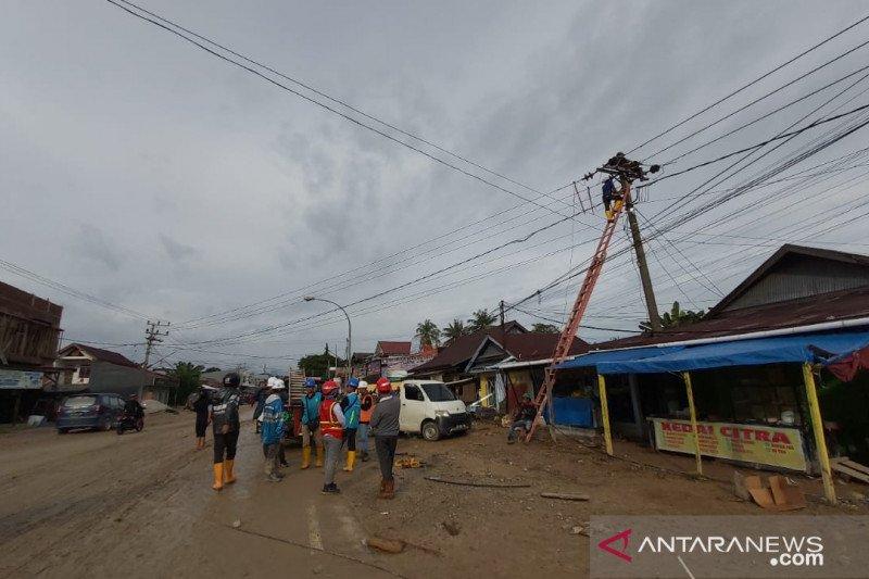 PLN kembali fungsikan 58 gardu listrik di Luwu Utara pascabanjir dan longsor
