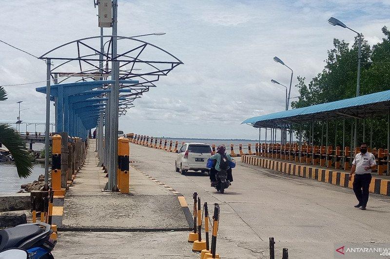 Dewan sorot kinerja Dishub Bengkalis,  sejumlah fasilitas pelabuhan Roro  terbengkalai
