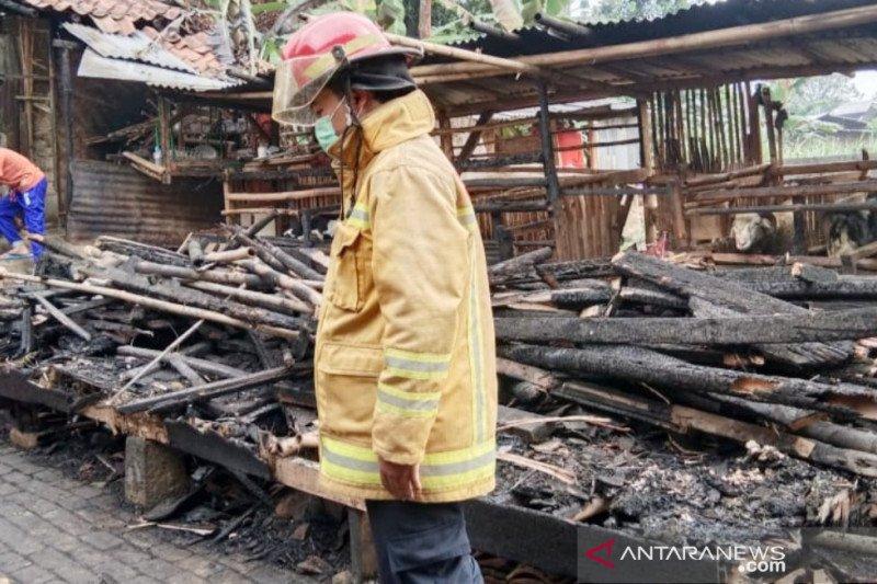 Pondok pesantren Al Golibiah di Puncak Bogor ludes terbakar