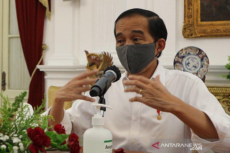Presiden Jokowi: tantangan kejahatan yang dihadapi polisi sangat berat