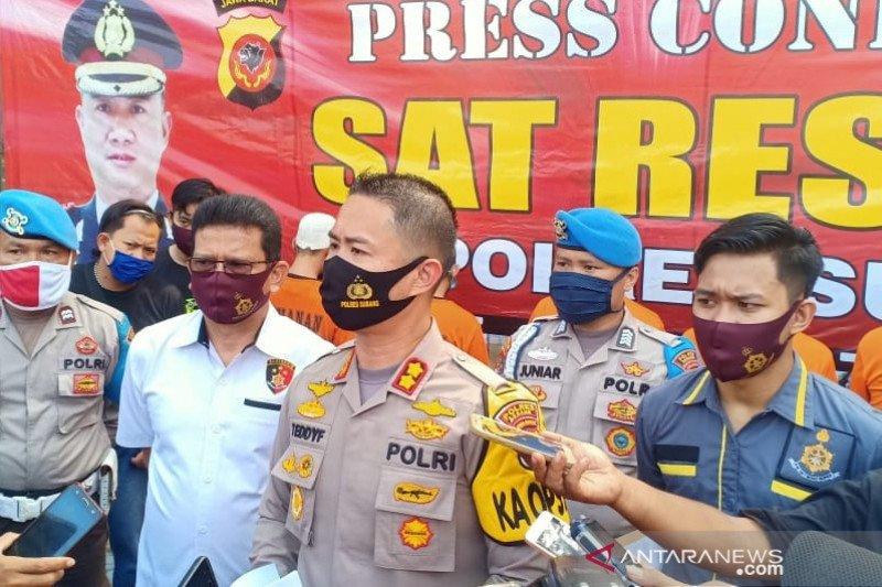 Polres Subang ungkap kasus pembunuhan Brigadir Andi Suwandi