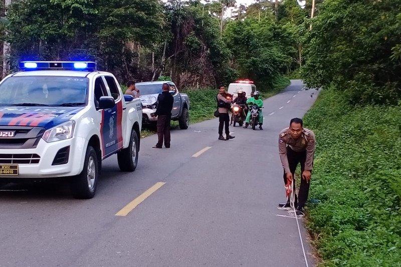 Polisi Nabire cari pengemudi mobil terlibat kecelakaan