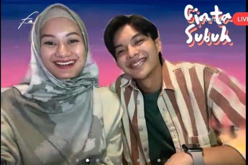 """Film """"Cinta Subuh"""" pasangkan pengantin baru Dinda Haw dan Rey Mbayang"""