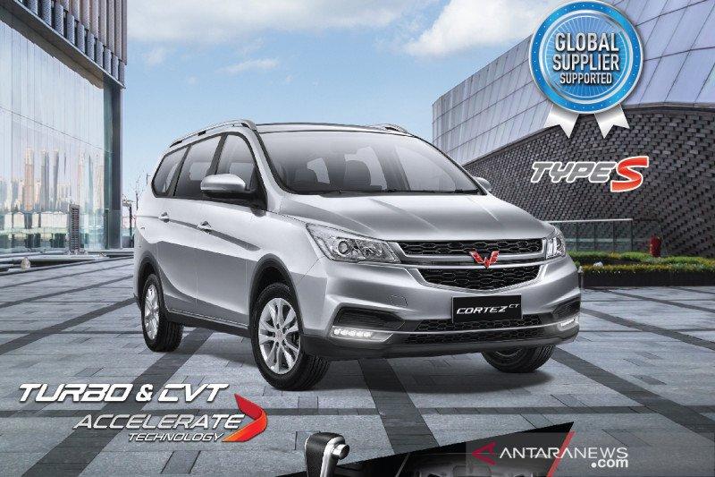 "MPV baru Wuling Cortez Type S ""8-seater"" harganya Rp209 juta"