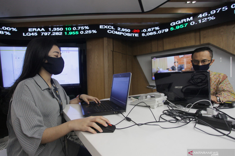 Eskalasi konflik AS - China meningkat, IHSG ditutup melemah