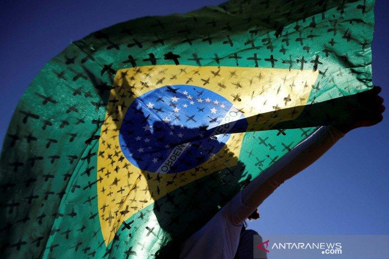 Brazil catat penambahan 57.837 kasus COVID-19