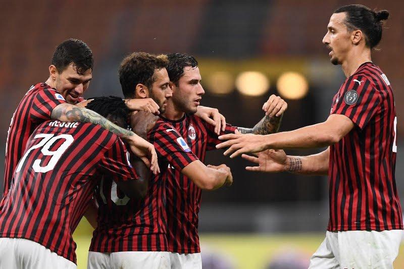 AC Milan hajar Parma usai sempat tertinggal