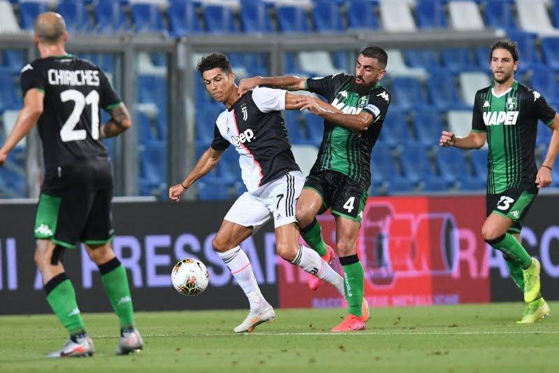 Enam gol tercipta saat Sassuolo tahan imbang Juventus 3-3