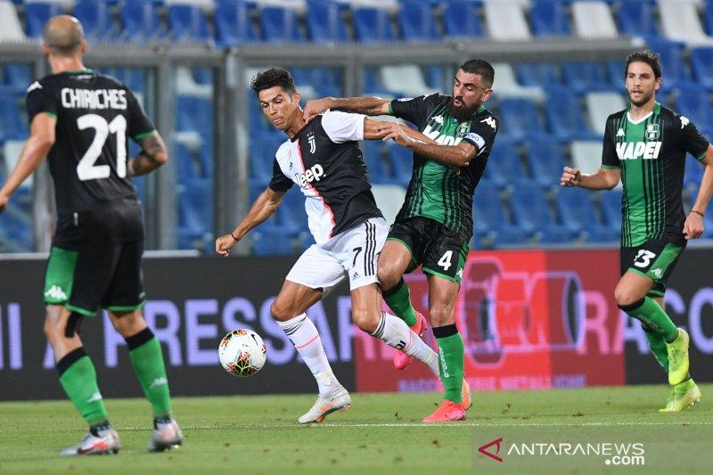 Enam gol tercipta saat Sassuolo menahan imbang Juventus