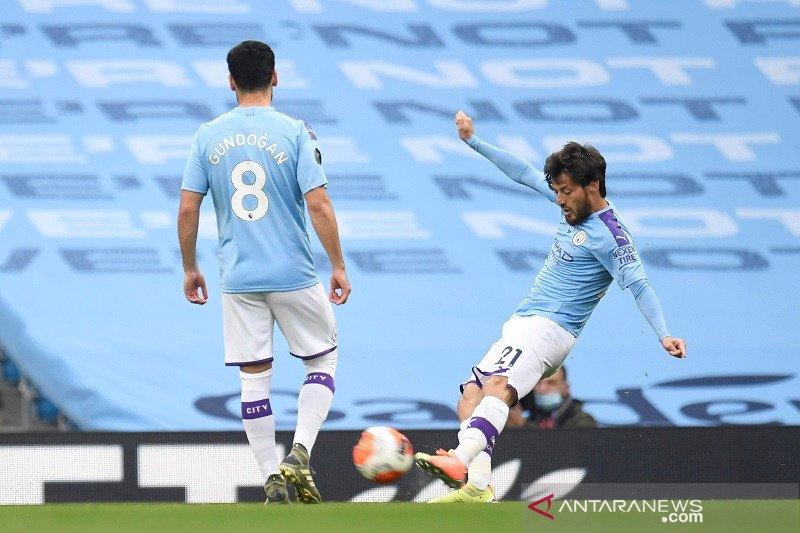 Manchester City kalahkan Bournemouth yang di ambang degradasi