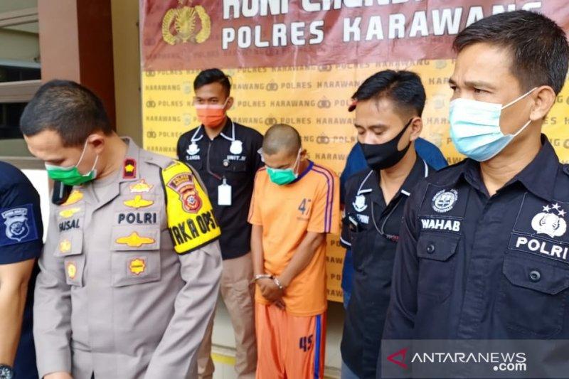 Polres Karawang tangkap oknum PNS diduga cabuli anak