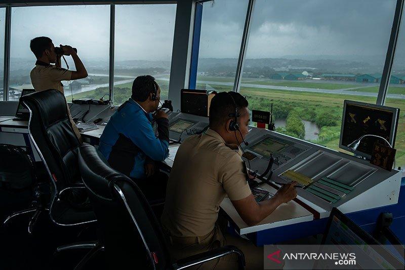Airnav Indonesia kelola 55.188 pergerakan pesawat selama libur akhir tahun