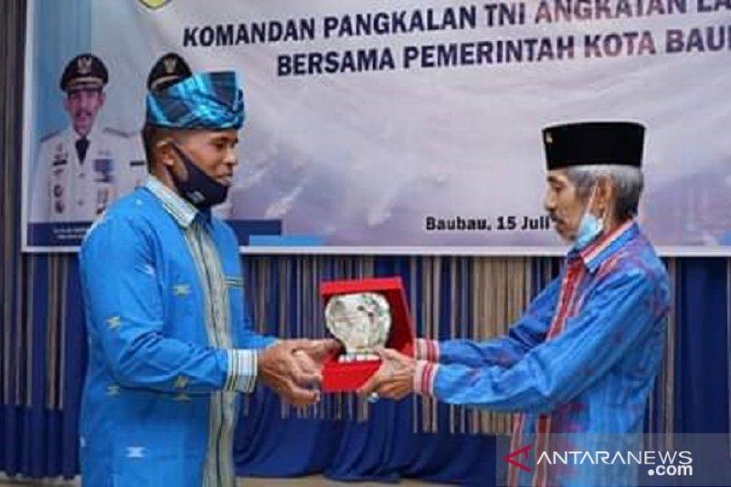 Wali Kota berharap status Pos TNI Angkatan Laut Baubau ditingkatkan