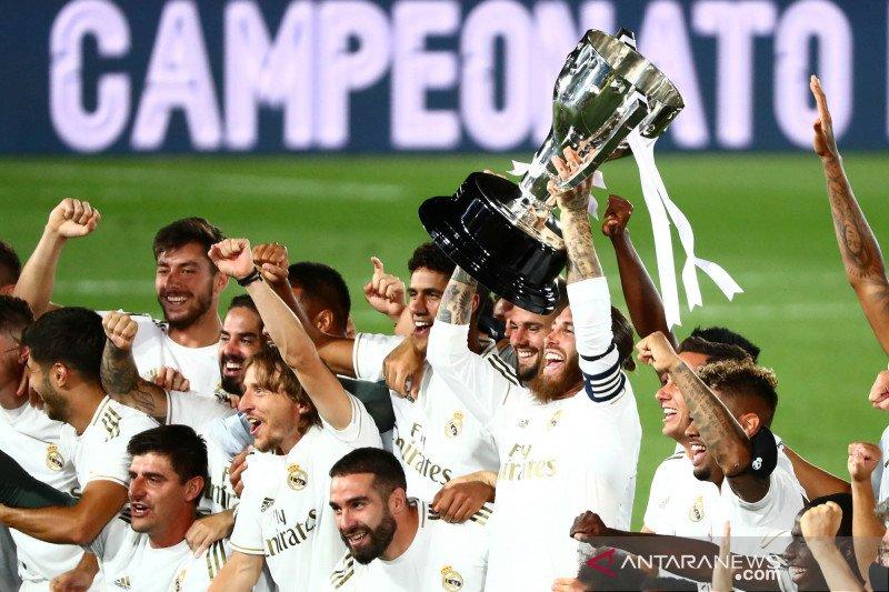 Klasemen Liga Spanyol saat Real Madrid pastikan juara