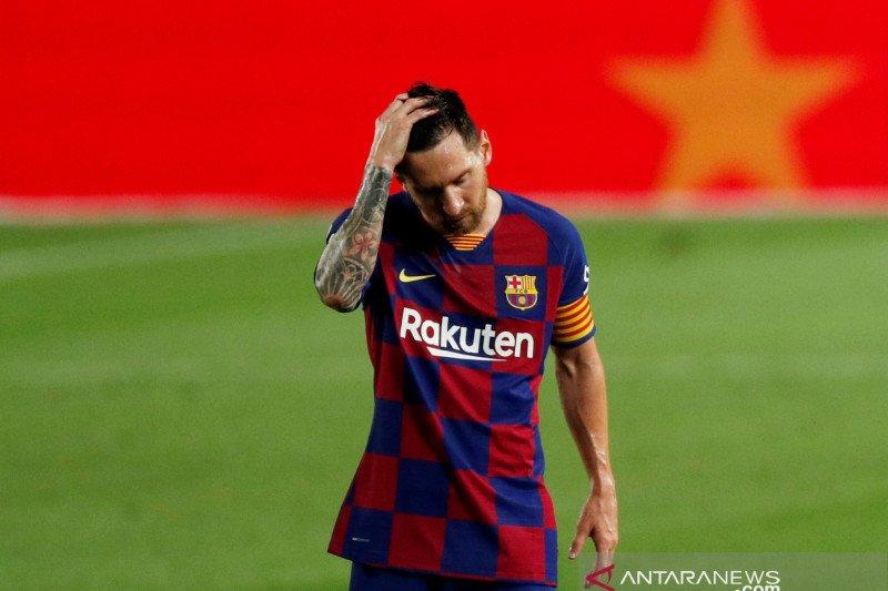 Gagal di La Liga, Messi pesimistis Barca juara Liga Champions