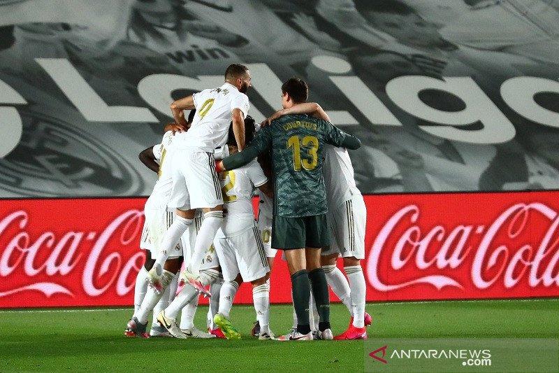 Real Madrid pastikan gelar juara setelah kalahkan tamunya Villarreal