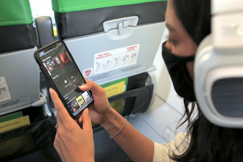 Citilink gandeng GoPlay hadirkan hiburan di pesawat