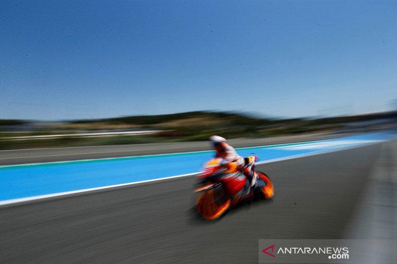 Marquez tidak kehilangan kecepatan untuk duduki P3 GP Portugal