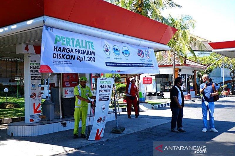 Promosi Pertamina, harga Pertalite turun setara dengan Premium Rp6.450/liter