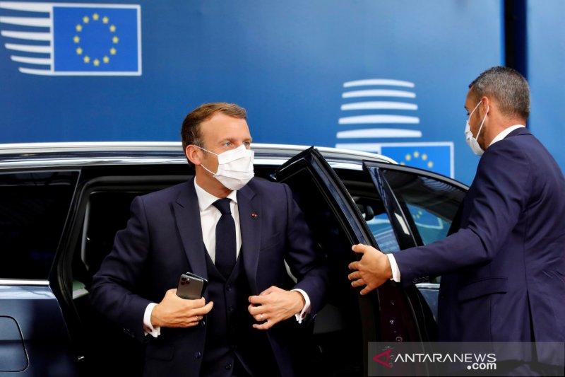 Macron janji bantuan untuk Lebanon tak jatuh ke tangan yang korup