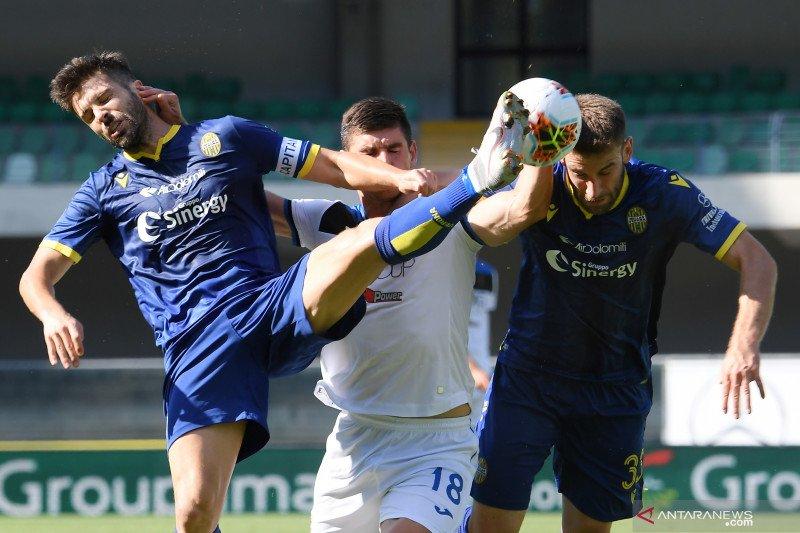 Atalanta ditahan imbang Verona 1-1