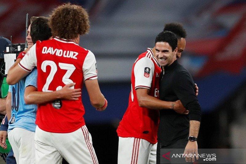 Arteta bangga Arsenal kalahkan dua tim besar